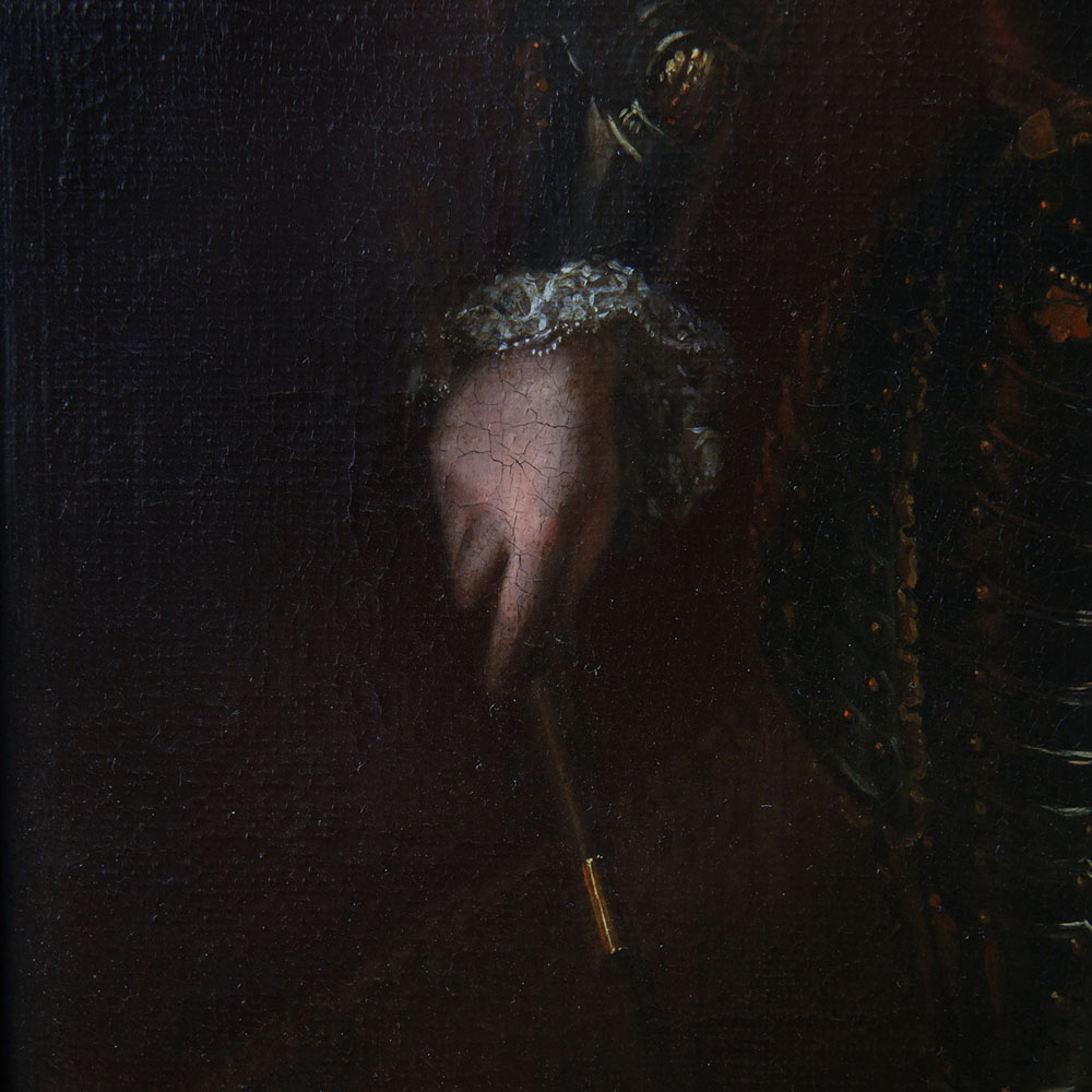 Portrait of a Nobleman, standing small three-quarter length, in armour