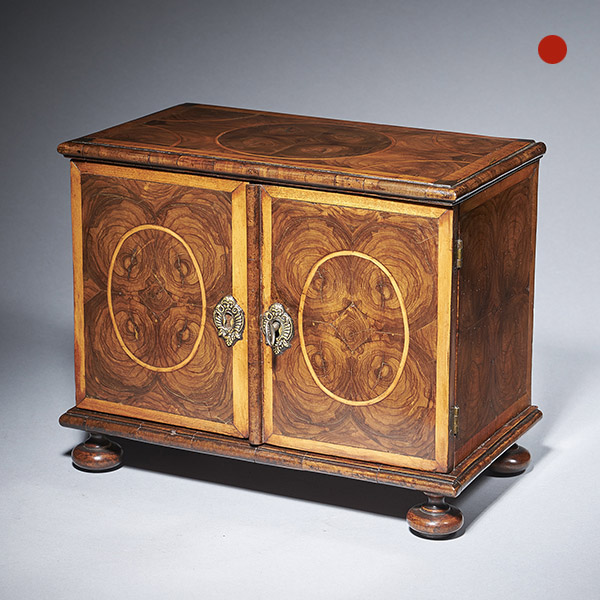17th-Century miniature table cabinet