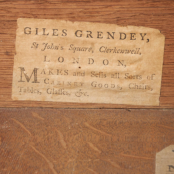 """""""A labelled Grendey Chest"""" – Featured by the Antiques Trade Gazette, May 29th 2021."""